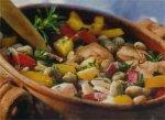 Фасолевый суп с куриной грудкой