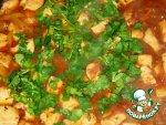 Овощи по-итальянски - тушёные с рисом, грибами, ветчиной