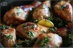 Ассорти-гриль: запечённые куриные ножки, картофель и перец