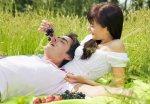Романтический пикник для влюбленных