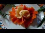 Как украсить праздничное блюдо
